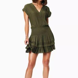 NWT Ramy Brook Vanessa Dress - Green - Small